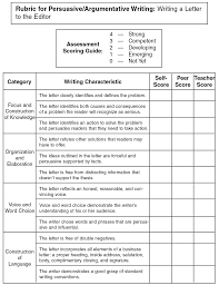 emc languagelink pine level exercises rubric for persuasive argumentative writing writing a letter to the editor this exercise cannot be answered online please complete the exercise on your