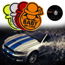 Car Personality Baby In Car Guan Yuanguang Reflective Stickers ...