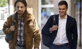 Resultado de imagen para Pedro Sánchez y Pablo Iglesias