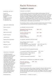academic cv template curriculum vitae academic cvs student application jobs cv research resume template