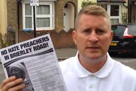 """RALLY: Paul Golding is targeting the preacher and wants him kicked out of his home and fired from his job [YOUTUBE]. """"They have printed a leaflet full of ... - 59359"""