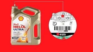Проверка подлинности <b>масла Shell</b> Helix