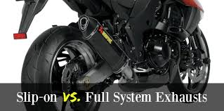 Slip-on vs <b>Full System Motorcycle Exhausts</b> - SoloMotoParts.com