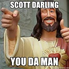 Savior Scott Darling | Meme Generator via Relatably.com