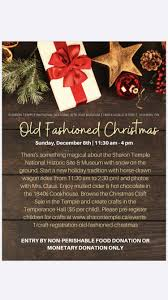 Old Fashioned Christmas - Experience York Region