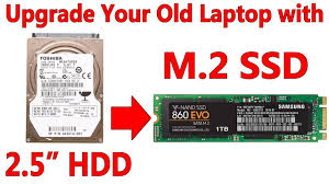 "Upgrade your Old Laptop's 2.5"" Hard Drive to a New M.2 SATA SSD ..."