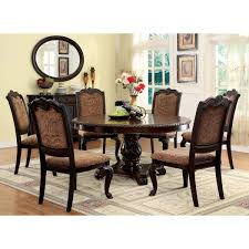 Formal Round Dining Room Sets Formal Dining Room Tables Round The Amazing Table With Using Iranews