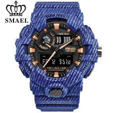 <b>SMAEL Brand Luxury Cowboy</b> Sport Watch New Men Military ...