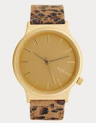 <b>Часы</b> с леопардовым принтом <b>Komono Wizard</b> | ASOS