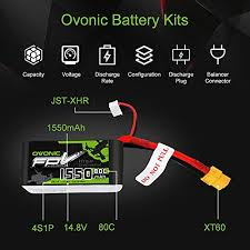 <b>Ovonic 14.8V 1550mAh 4S</b> 80C LiPo Battery- Buy Online in Turkey ...
