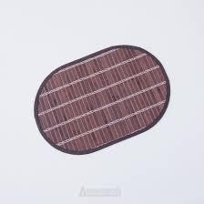 <b>Салфетка сервировочная</b>, размер: <b>30х45см</b>, овал, <b>коричневый</b> ...