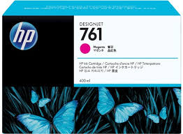 <b>HP 761</b> 400-ml <b>Magenta DesignJet</b> Ink Cartridge - <b>HP</b> Store UK