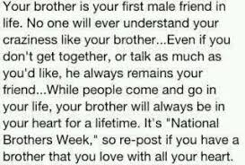 My brothers on Pinterest | Brother, Big Brothers and Brother Quotes