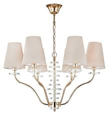 <b>Люстра Crystal Lux ARMANDO</b> SP6 GOLD, E14, 360 Вт — купить ...