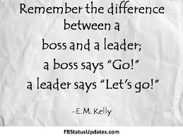Leadership Quotes. QuotesGram via Relatably.com