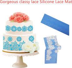 <b>Flower Rattan Fondant</b> Mold Cake Decorating Tools Non-stick ...