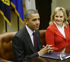 Image result for barack and mary fallin