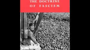 mussolini doctrine of fascism essay  mussolini doctrine of fascism essay
