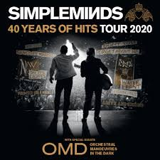Simple Minds with <b>Orchestral Manoeuvres In</b> The Dark 2020 ...