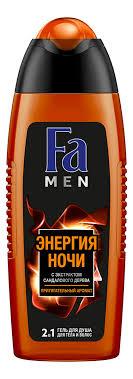 Купить гель для душа Энергия ночи 2 в 1 Men 250мл Fa для ...