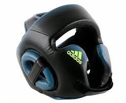 Шлем боксерский Adidas Speed Head Guard черно-синий S в ...