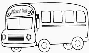 Small Picture school bus coloring page printable coloring pages simple bus