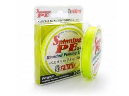 <b>Леска Fanatik Spinning PE</b> X4 ( 0 6) 0 12mm 120m Yellow ...