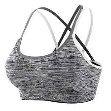 CLOUSPO <b>Sports Bra</b> Yoga Bras Seamless Soft Comfortable ...