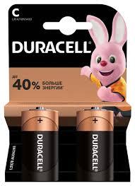 <b>Батарейки</b> щелочные <b>Duracell</b> Basic C/LR14-2BL 2 штуки ...