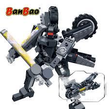 BanBao Robot Transformer Motorbike <b>2 in 1</b> Building Blocks ...