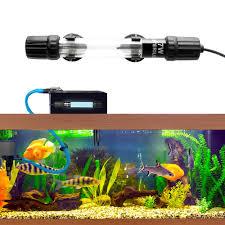 Senzeal <b>7W</b>/<b>11W Submersible UV</b> Light LED Aquarium Water Clean ...