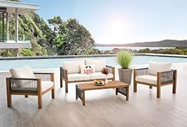 AISER Royal Curacao <b>Garden Lounge Set</b> - Luxury Furniture <b>Set</b> ...