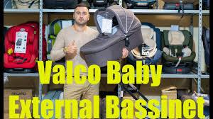 <b>Valco Baby External</b> Bassinet <b>люлька</b> для колясок Snap 3 и 4 2 в 1 ...