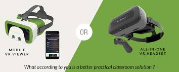 <b>Virtual Reality</b> Headsets in the Classroom – <b>All-In-One</b> or Mobile ...