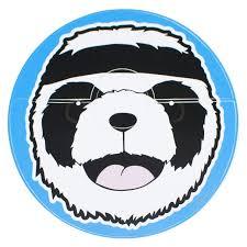 <b>Наклейка</b> 003 (Панда) на умный пылесос Colorful Stickers for ...