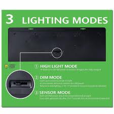 4X <b>LED</b> RV <b>Motion Sensor Solar</b> Exterior Porch Utility <b>Light</b> Fixture ...