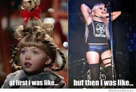 Cindy Lou Who All Grown Up | WeKnowMemes via Relatably.com