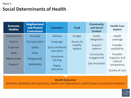 beyond health care the role of social determinants in promoting figure 2 social determinants of health
