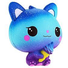 <b>Jumbo Kawaii Ice Cream</b> Cat Squishy PU Kitty Doll Simulated ...