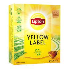 <b>Lipton</b> Yellow Label <b>черный чай</b> листовой