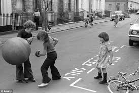 Image result for 1970s kids had more freedom to roam uk