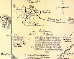 tolkien s letters rd a pilgrim in narnia the hobbit shire map tolkien