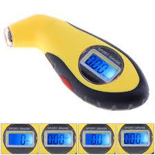 ABS <b>Portable Precision Electronic</b> Digital Tire Pressure Gauge ...