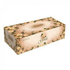 <b>Салфетки косметич</b> gentle 2 сл 200 шт с ароматом европы