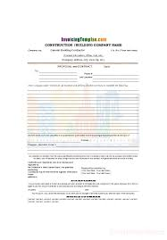 construction proposal template construction contract template watermark of urban buildings