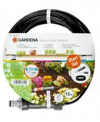 "<b>Шланг сочащийся</b> Gardena Micro-<b>Drip</b>-System 4,6 мм (3/16"") 15м + ..."