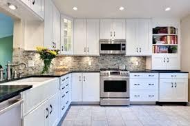 Black White Kitchen Designs Astonishing White Kitchen Cabinets For Kitchen Design Ideas