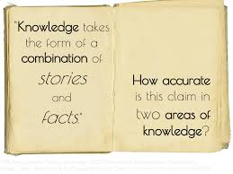 tok i biology knowledge takes the form of a combination of stories and facts image