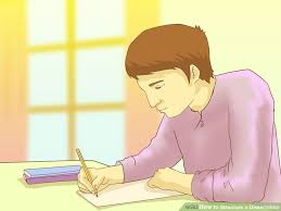 Ways to Structure a Dissertation   wikiHow wikiHow Image titled Structure a Dissertation Step