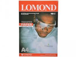 <b>Фотобумага Lomond A4 140g/m2</b> светлые ткани 10 листов 808411